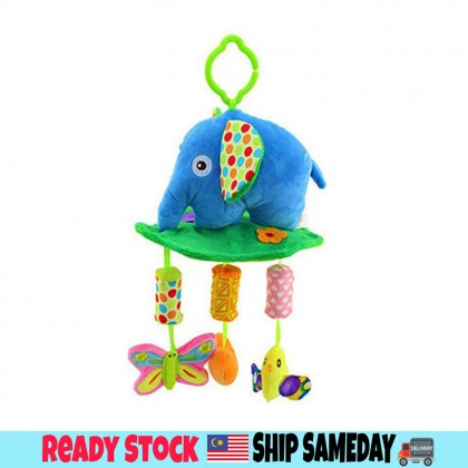 Baby Soft Toys Baby Rattle Toy / Stroller And Cot Hanging Elephant