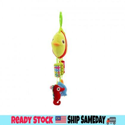 Baby Soft Toys Baby Rattle Toy / Stroller And Cot Hanging Fish